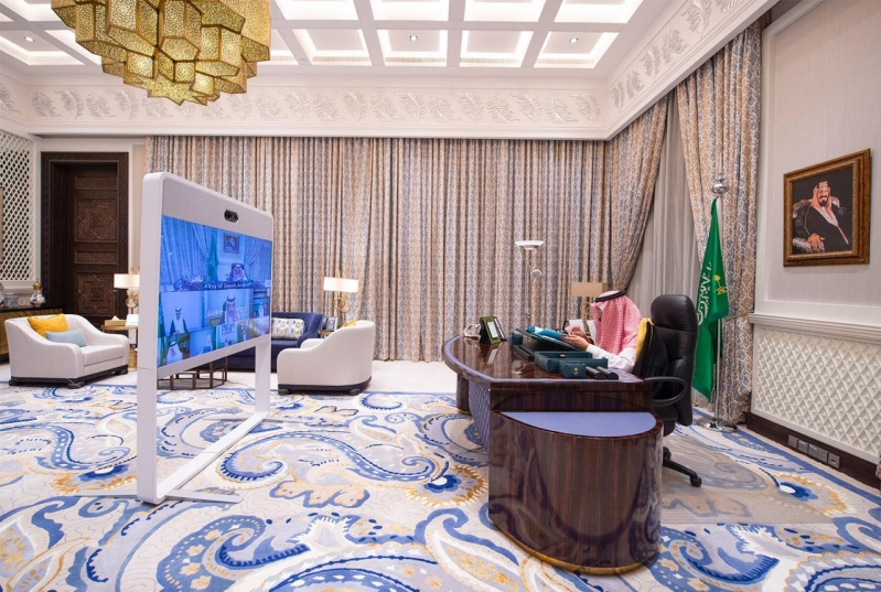 13 قرارًا لـ مجلس الوزراء خلال جلسته عبر الاتصال المرئي برئاسة الملك سلمان