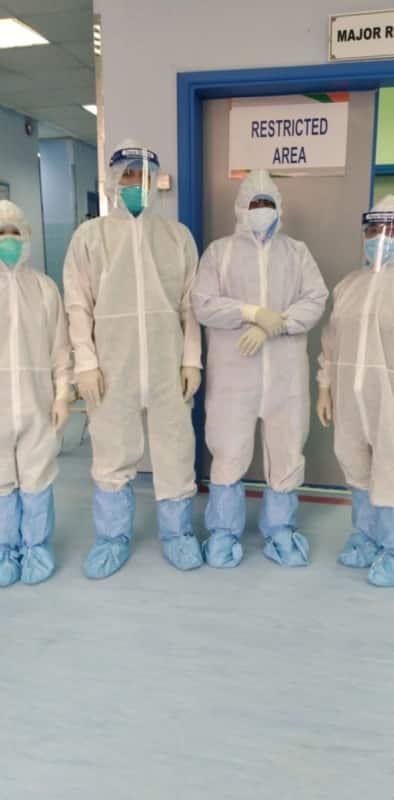 عملية قيصرية ناجحة تنقذ مصابة بفيروس كورونا في ظهران الجنوب